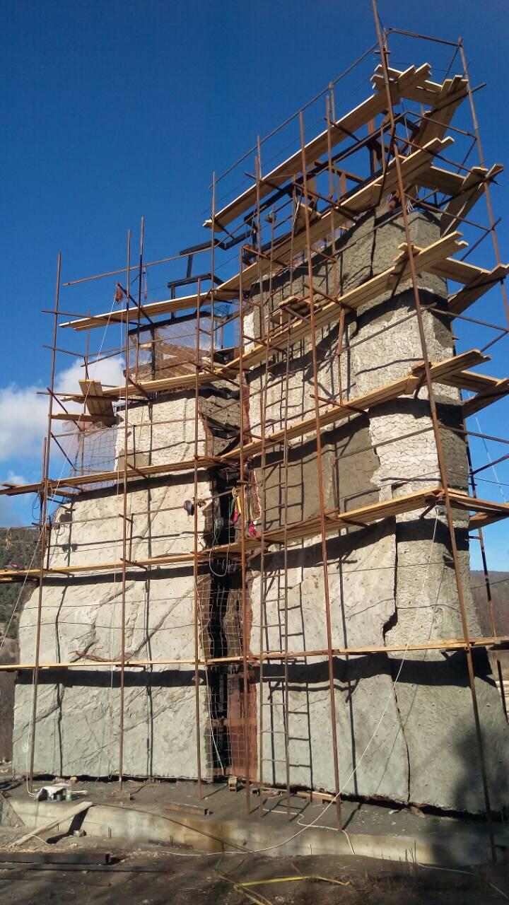 Морчека Эдвенчер - Строительство скалодромов